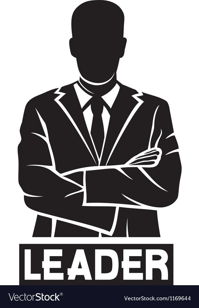 Leader-successful businessman vector | Price: 1 Credit (USD $1)