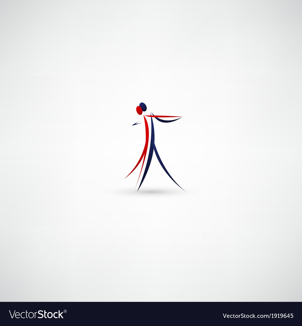 Dancer icon vector   Price: 1 Credit (USD $1)