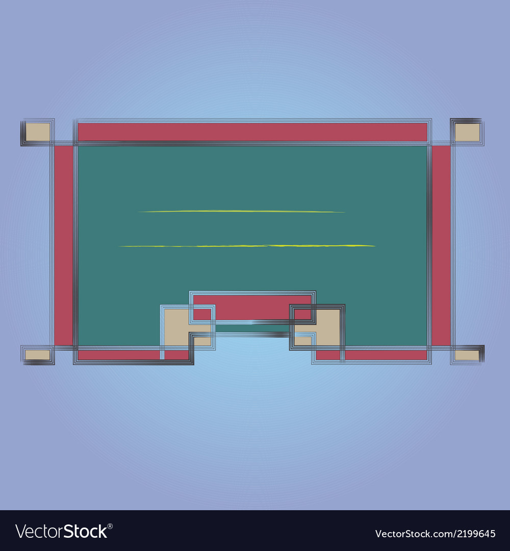 Frame1 vector | Price: 1 Credit (USD $1)
