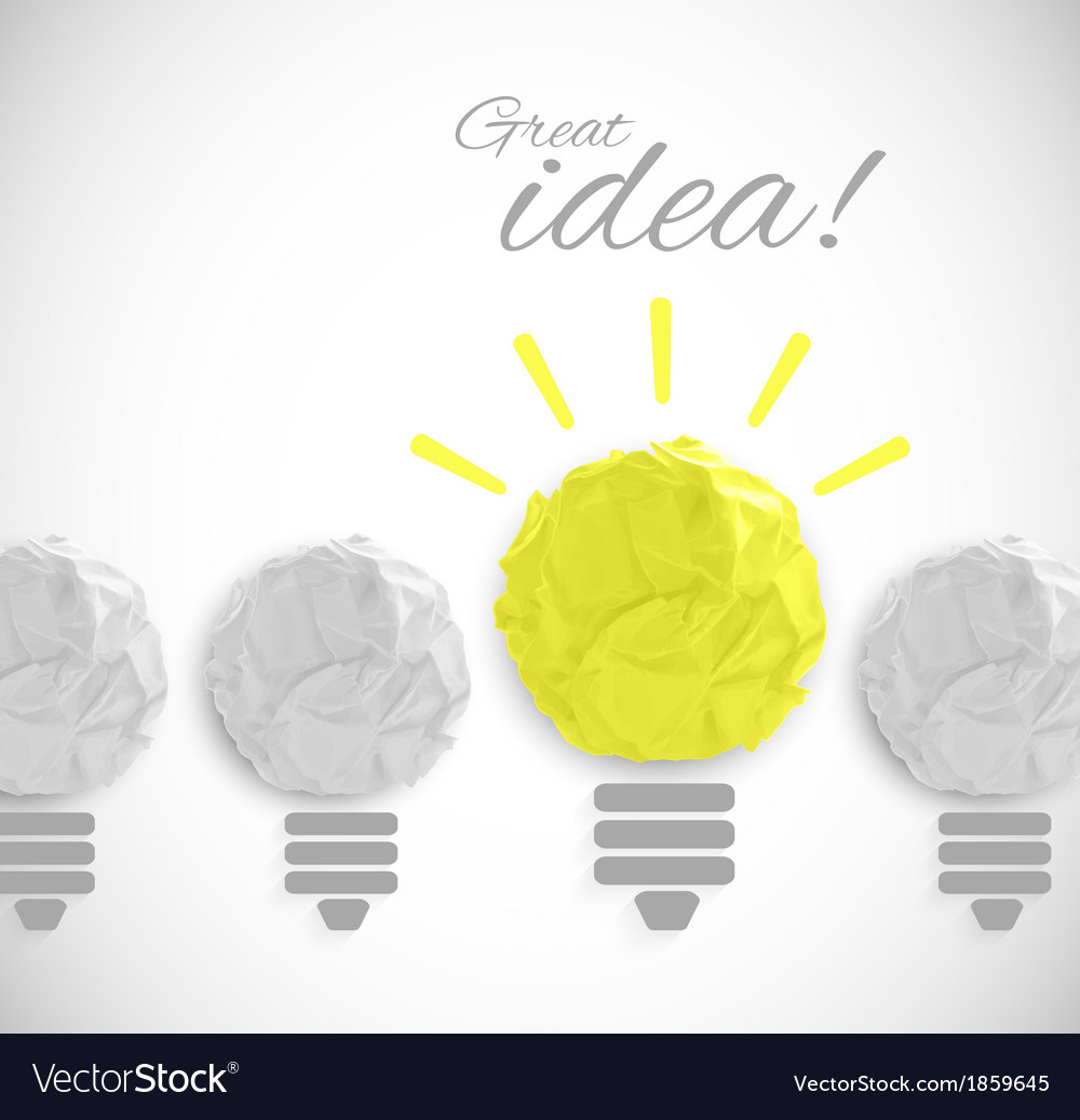 Idea concept vector | Price: 1 Credit (USD $1)