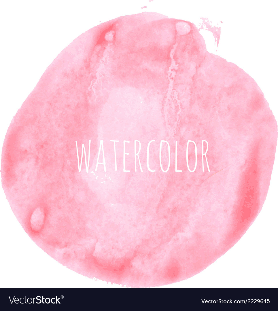 Pink watercolor blob vector | Price: 1 Credit (USD $1)