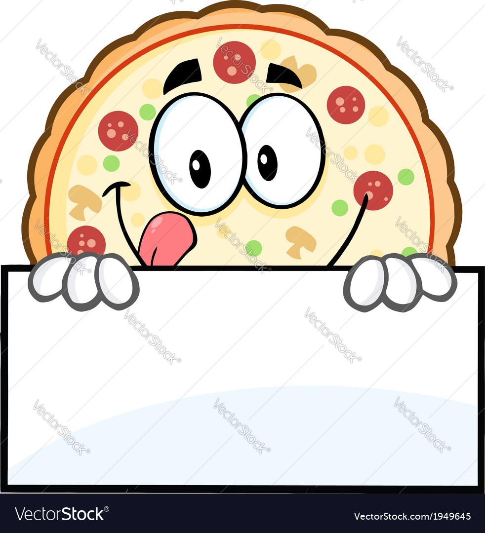 Pizza cartoon vector   Price: 1 Credit (USD $1)
