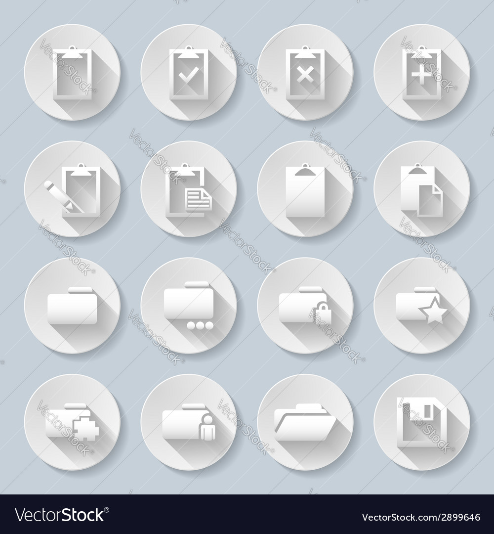 Folders vector | Price: 1 Credit (USD $1)