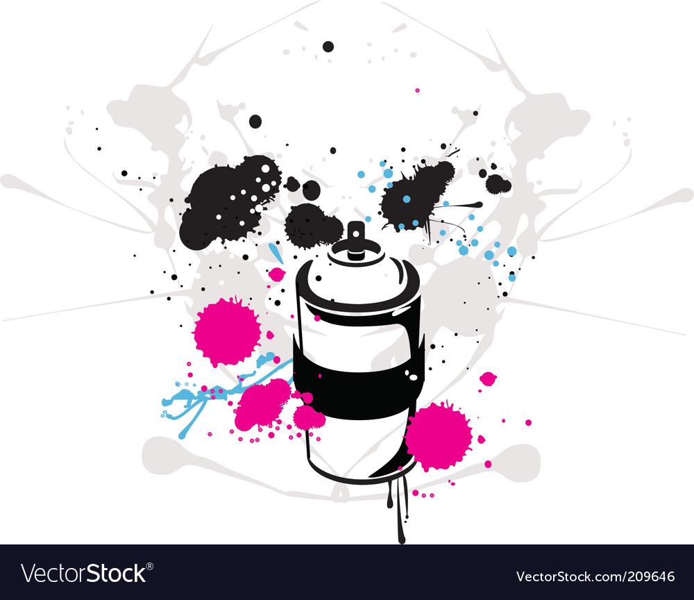 Spray can vector | Price: 1 Credit (USD $1)