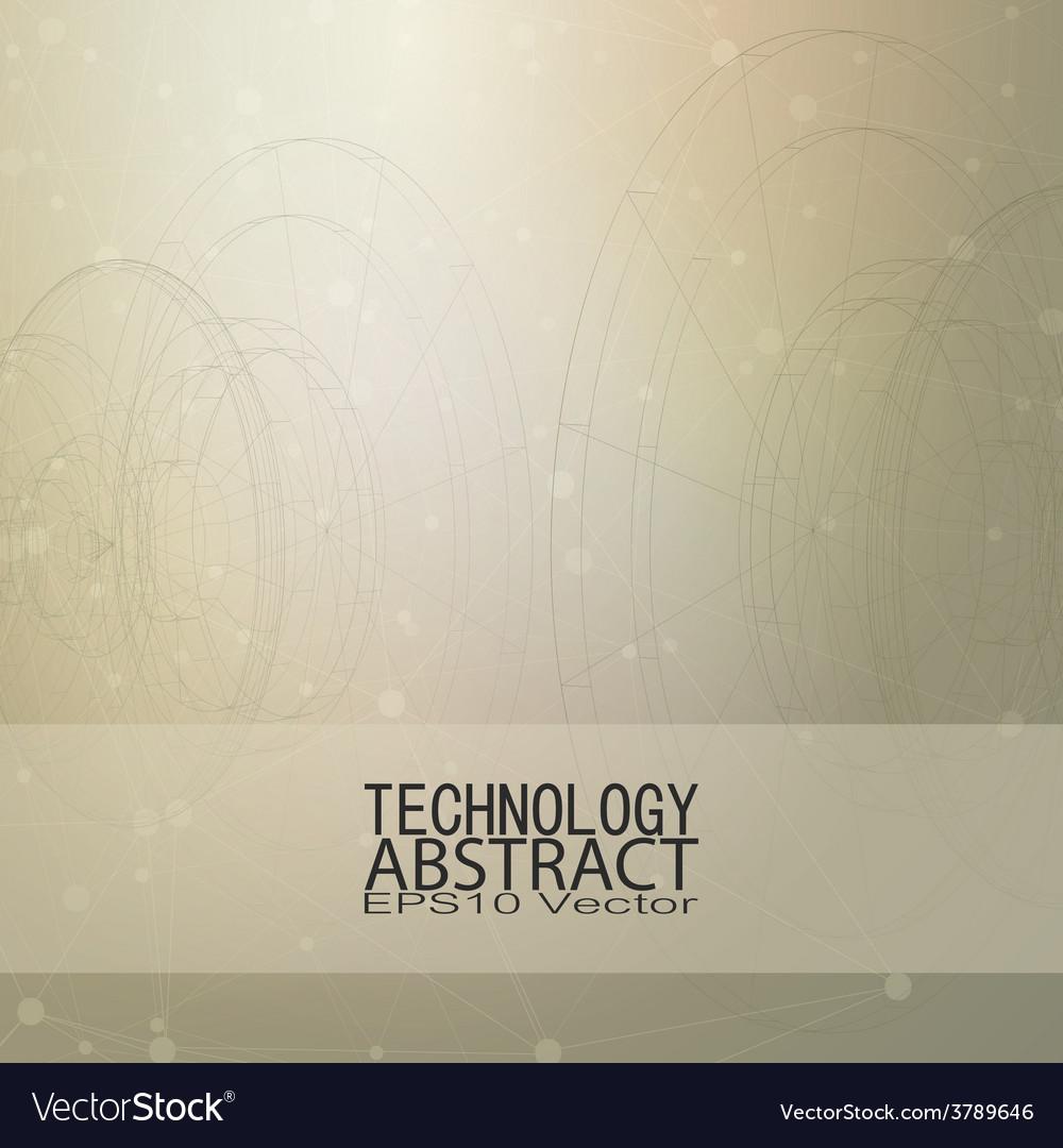 Technical retro background conceptual vector | Price: 1 Credit (USD $1)