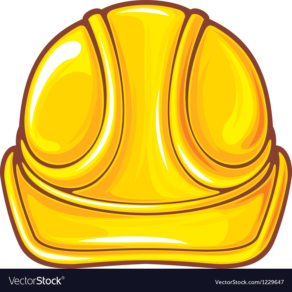 Construction workers hard hat vector | Price: 1 Credit (USD $1)