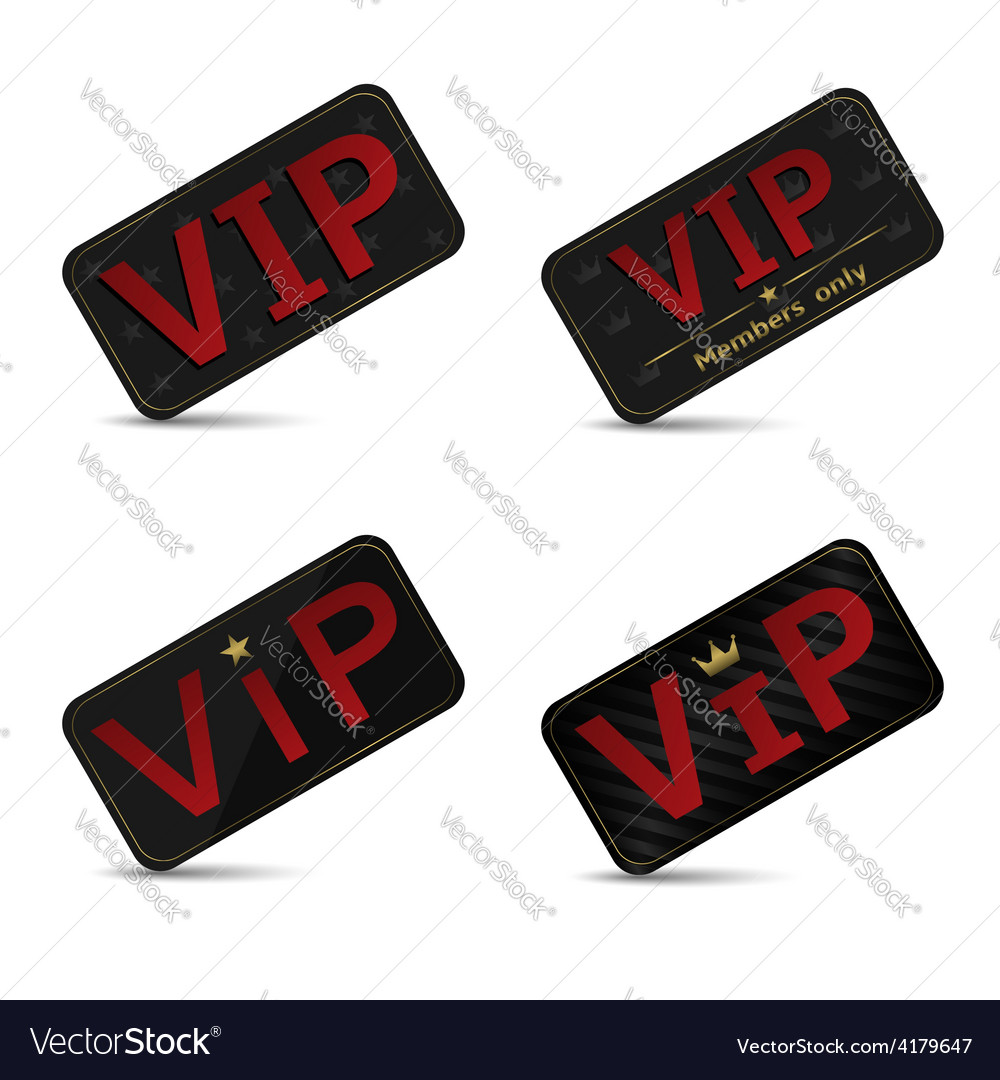 Vip cards vector | Price: 1 Credit (USD $1)