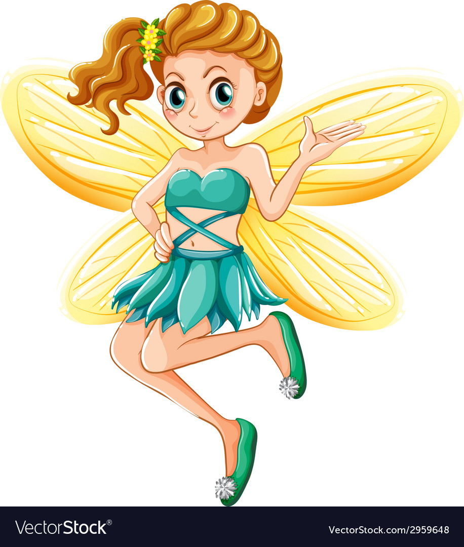 Fairy vector | Price: 1 Credit (USD $1)