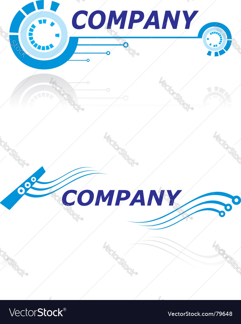 Logo for modern company vector | Price: 1 Credit (USD $1)