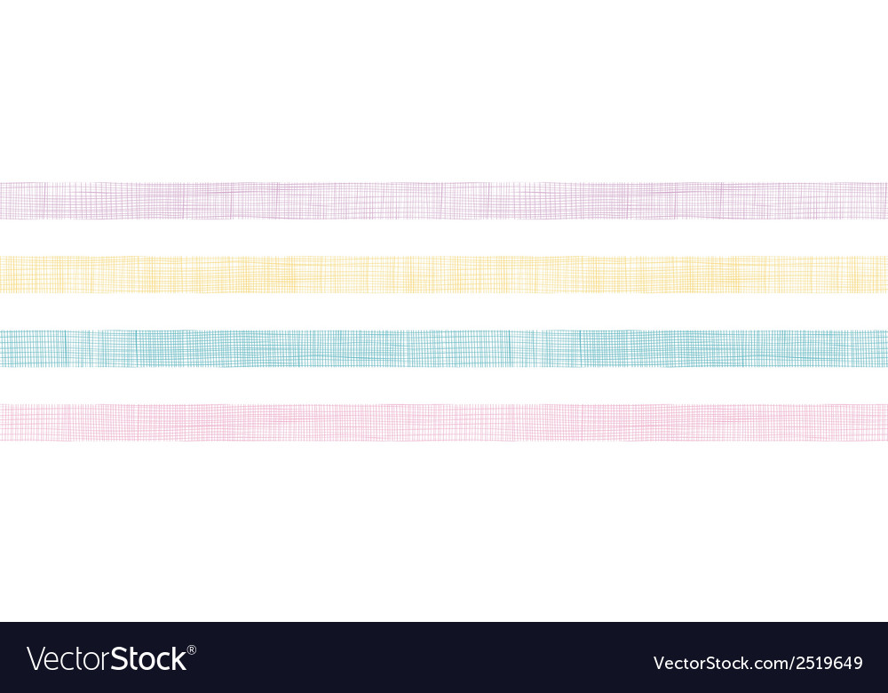 Abstract textile colorful stripes horizontal vector | Price: 1 Credit (USD $1)