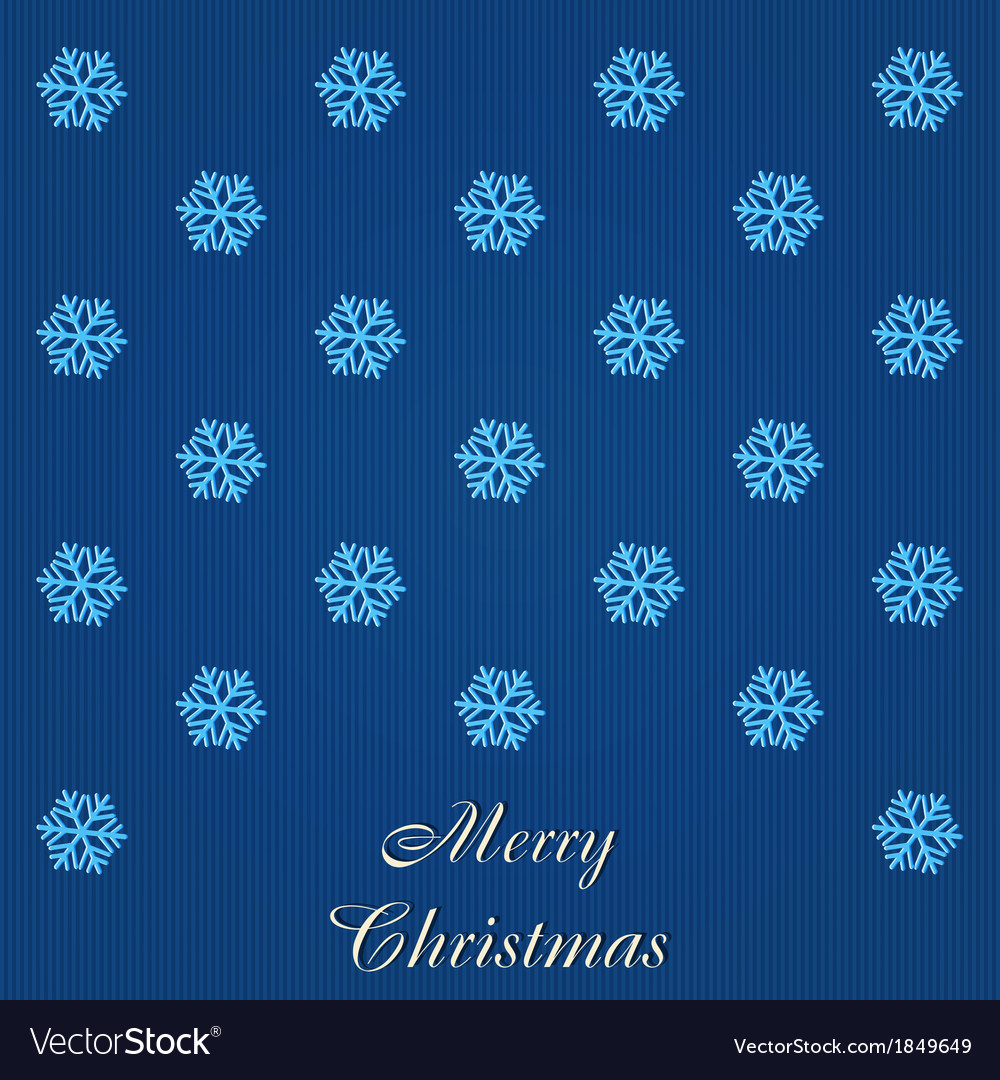 Christmas card with many showflakes vector | Price: 1 Credit (USD $1)