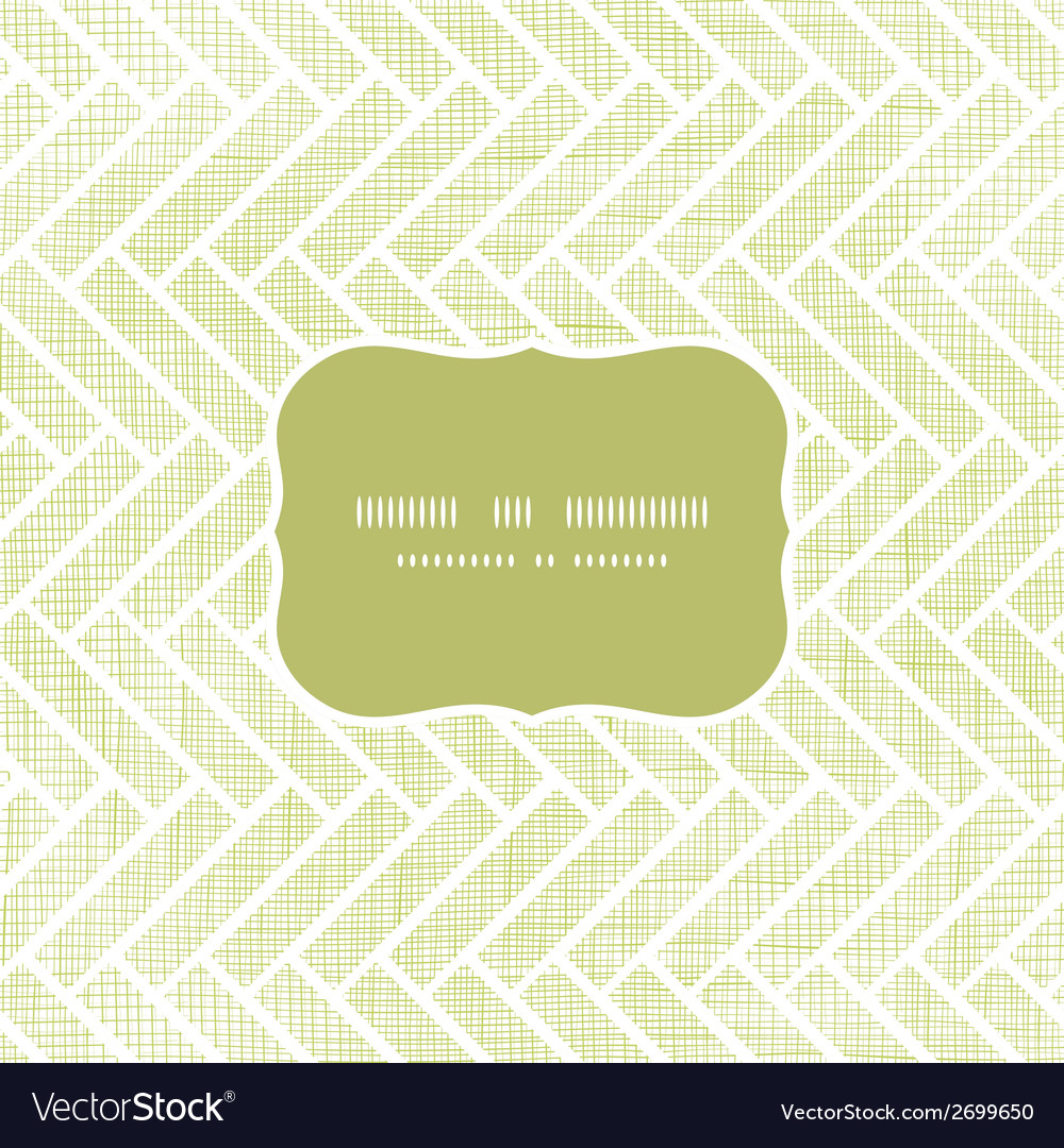 Abstract textile parquet frame seamless pattern vector | Price: 1 Credit (USD $1)