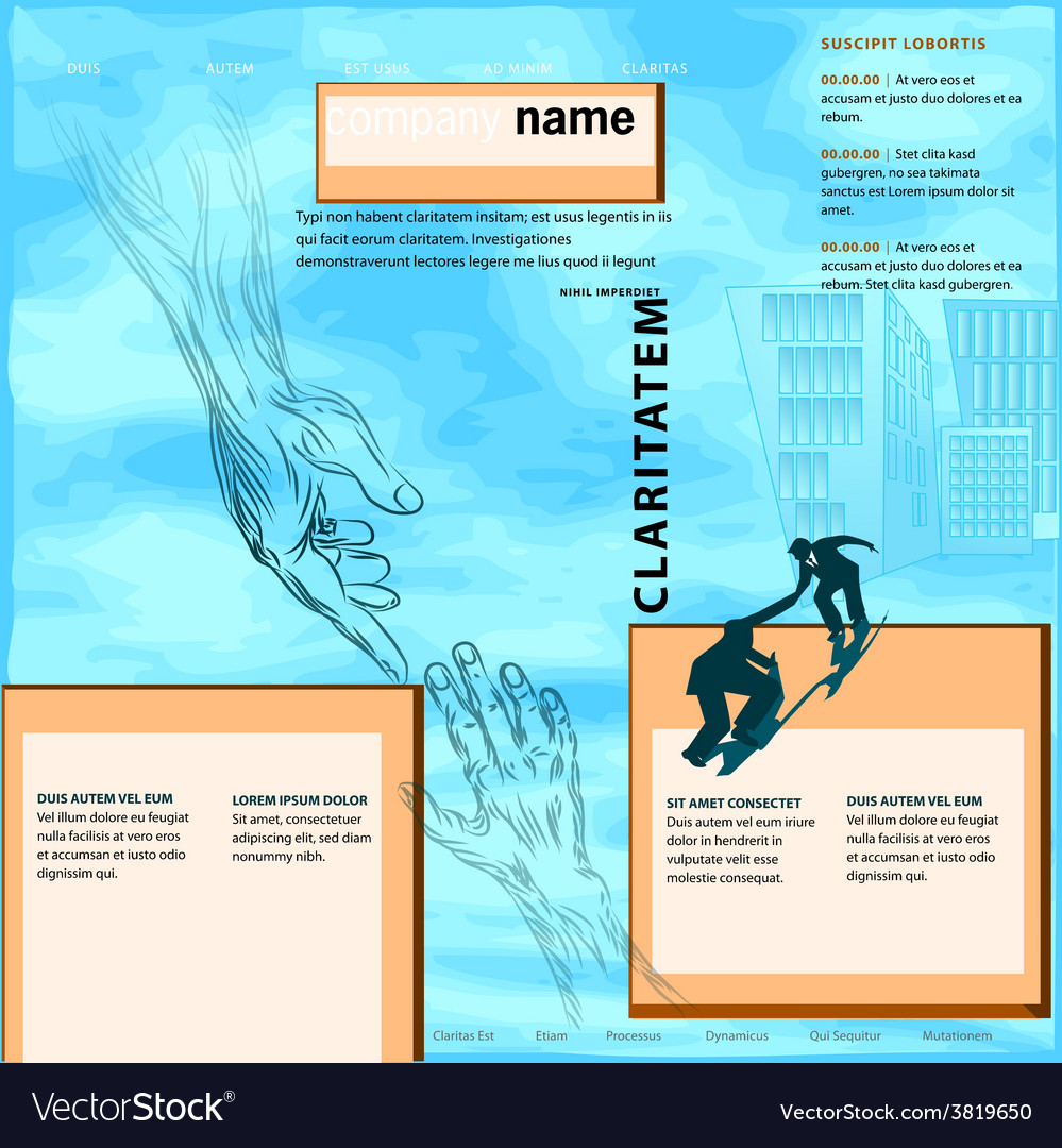Business help template vector   Price: 1 Credit (USD $1)