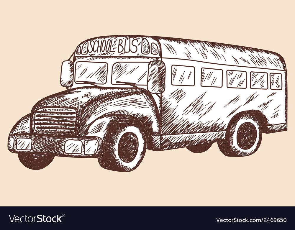 School props schoolbus vector | Price: 1 Credit (USD $1)