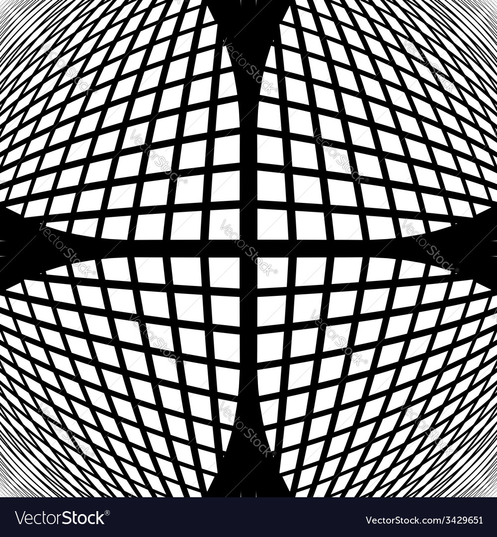 Design monochrome checked geometric pattern vector | Price: 1 Credit (USD $1)