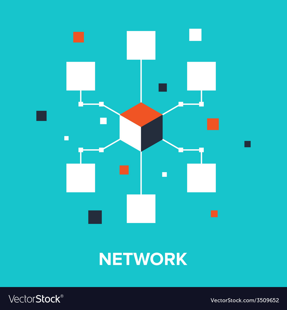 Computer network vector | Price: 1 Credit (USD $1)