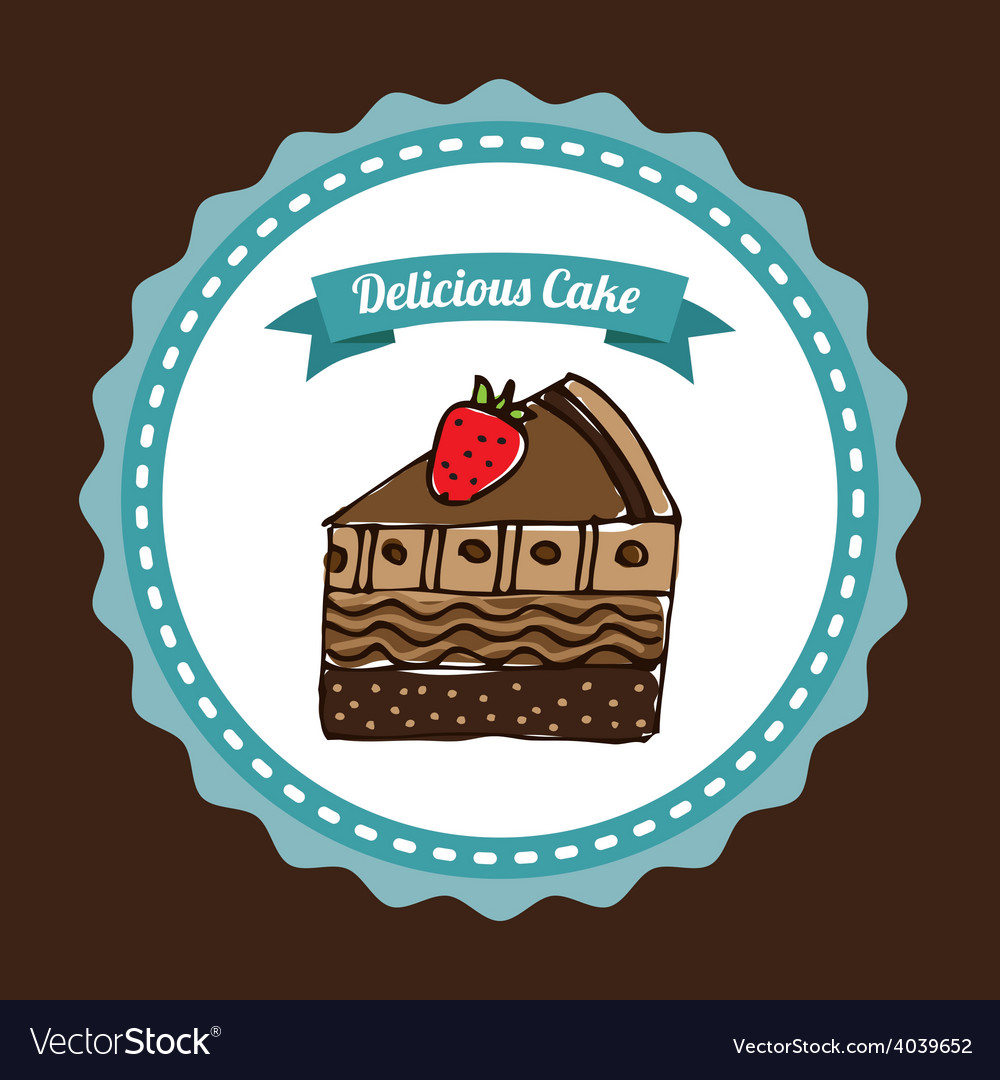 Delicious bakery vector | Price: 1 Credit (USD $1)