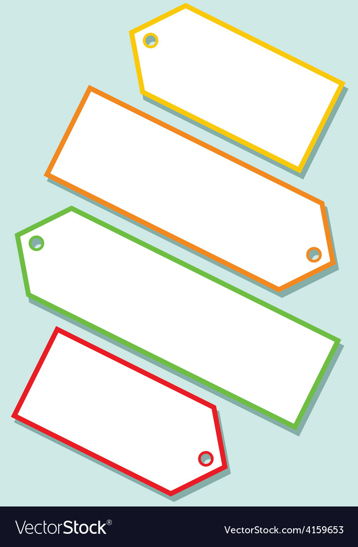 Blank labels vector | Price: 1 Credit (USD $1)