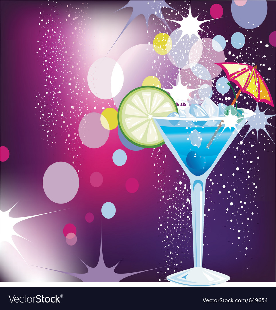Cocktails vector | Price: 1 Credit (USD $1)