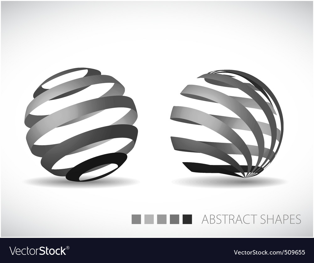 Artistic spheres vector | Price: 1 Credit (USD $1)