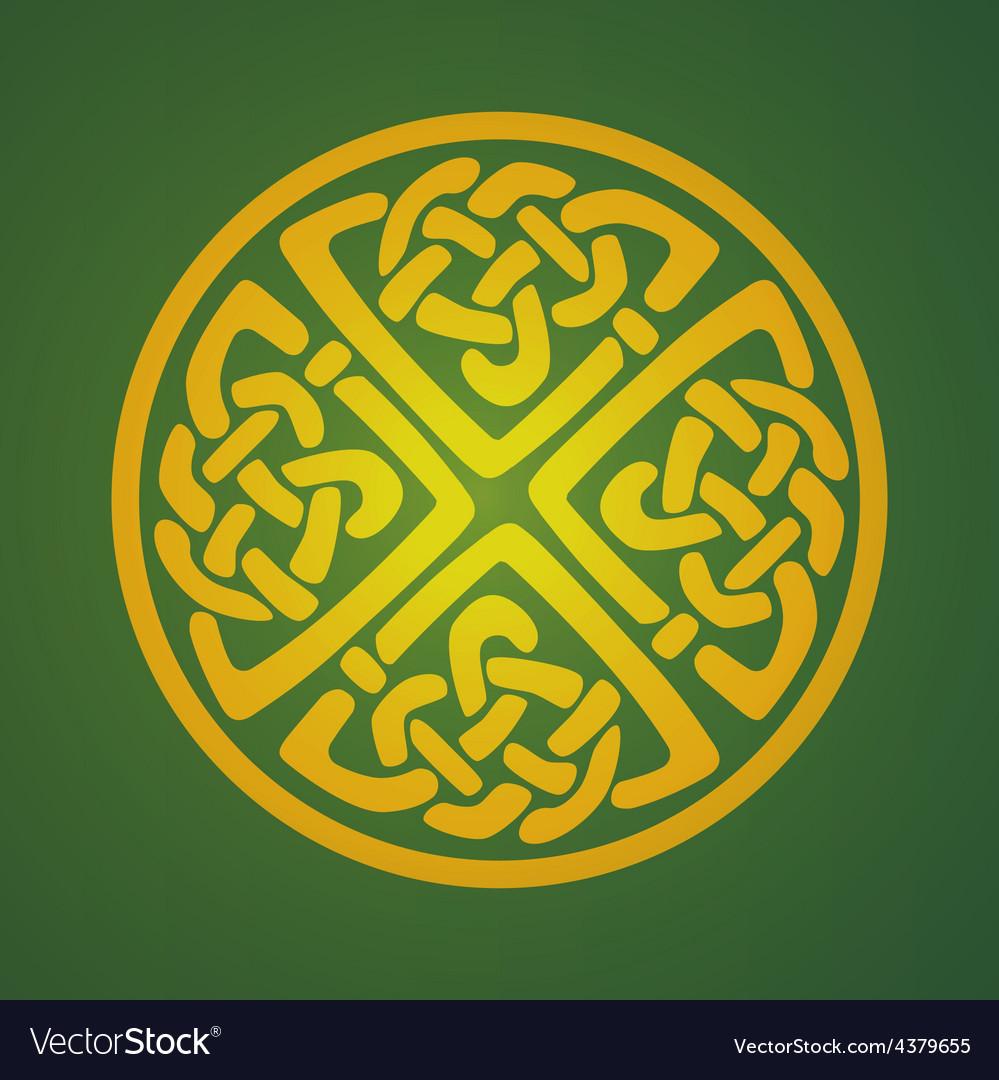 Celtic ornament symbol vector | Price: 1 Credit (USD $1)