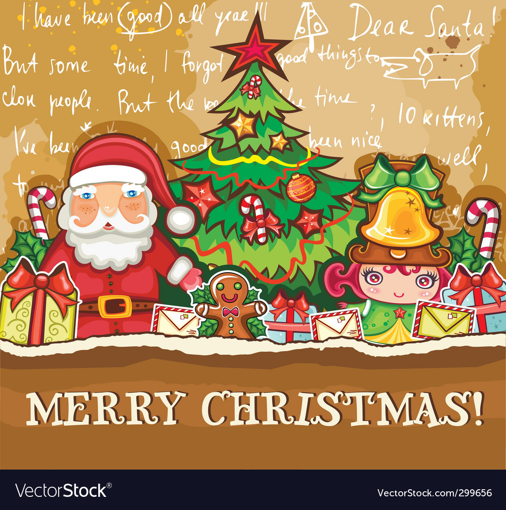 Christmas theme vector | Price: 5 Credit (USD $5)