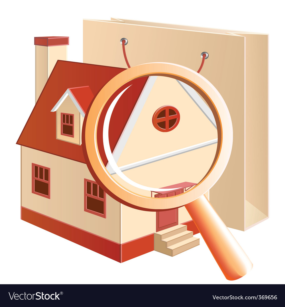 House hunting concept vector | Price: 1 Credit (USD $1)