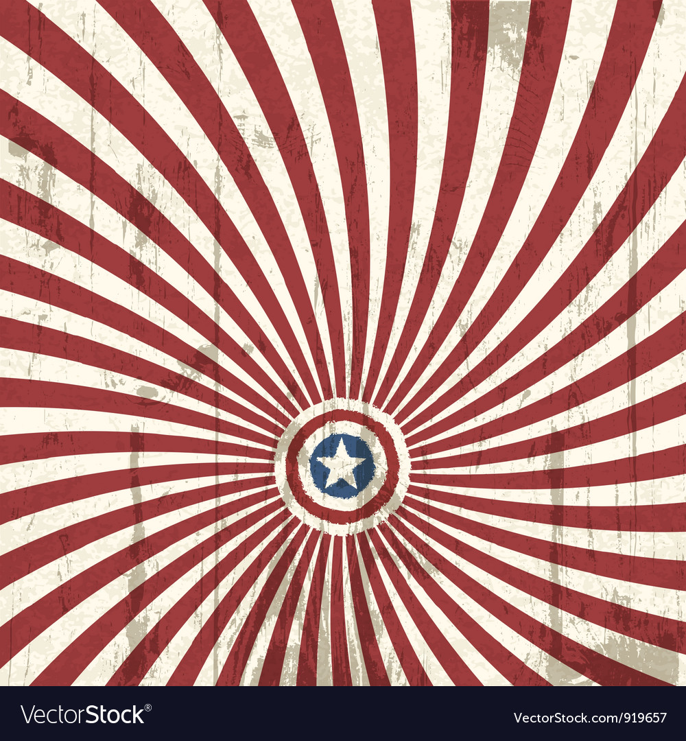 Abstract background with american flag elements vector | Price: 1 Credit (USD $1)