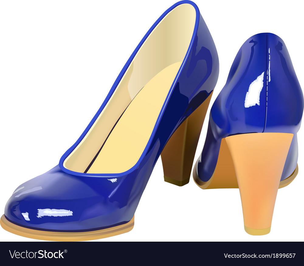 High heel shoes vector | Price: 1 Credit (USD $1)