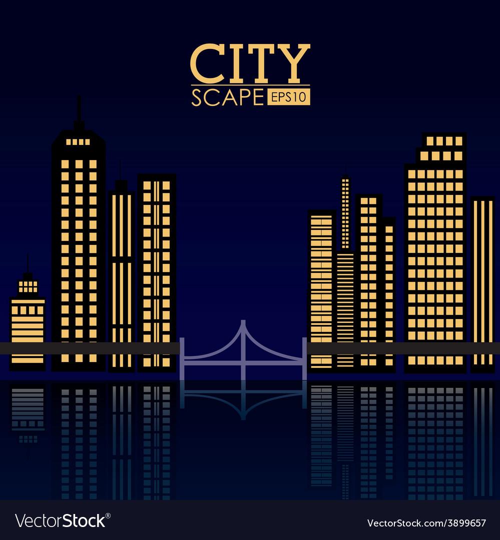 Urban design vector | Price: 1 Credit (USD $1)