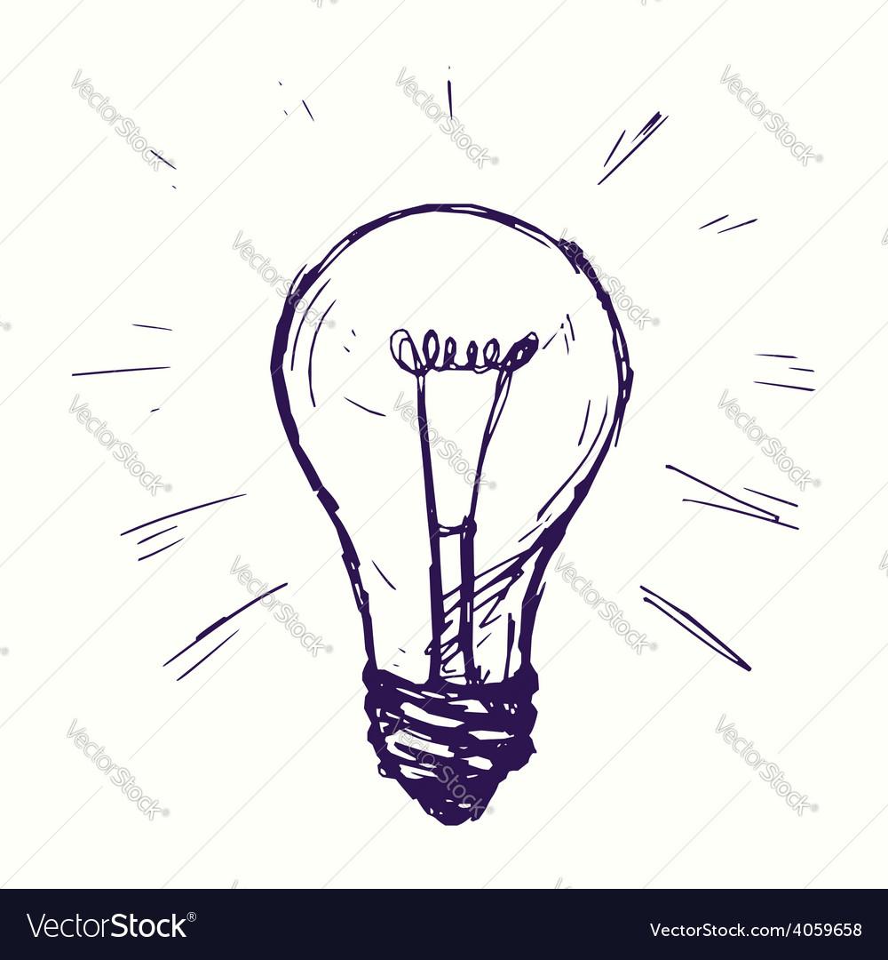 Incandescent lamp vector | Price: 1 Credit (USD $1)