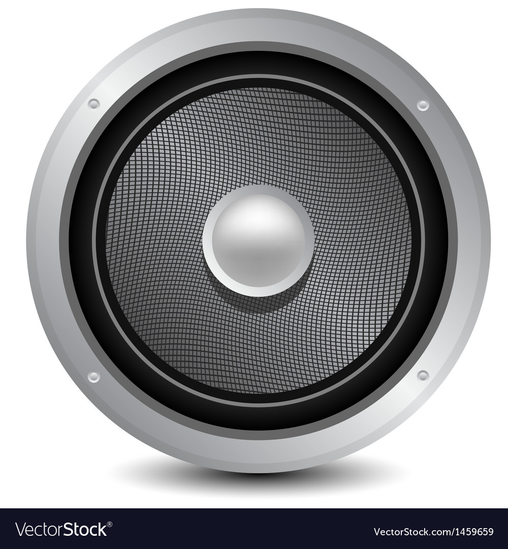 Audio speaker icon vector | Price: 1 Credit (USD $1)