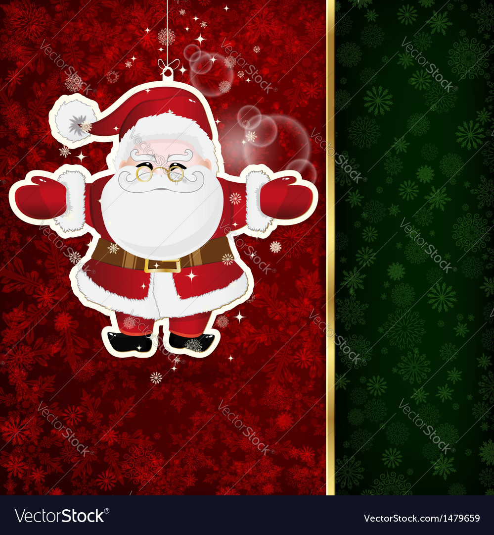 Background with christmas decoration and vector | Price: 3 Credit (USD $3)