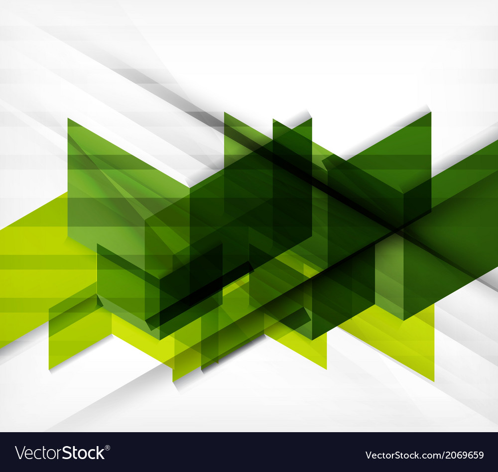 Blocks geometric abstract background vector | Price: 1 Credit (USD $1)