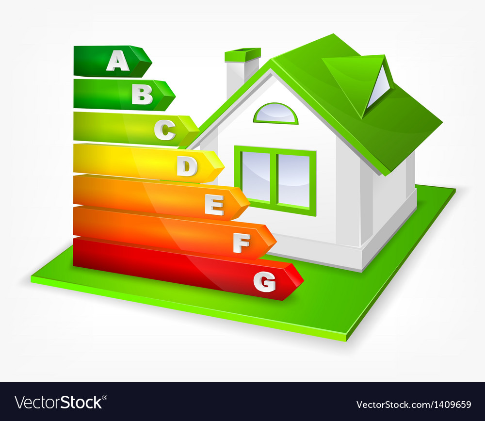 Energy efficiency rating with vector | Price: 1 Credit (USD $1)