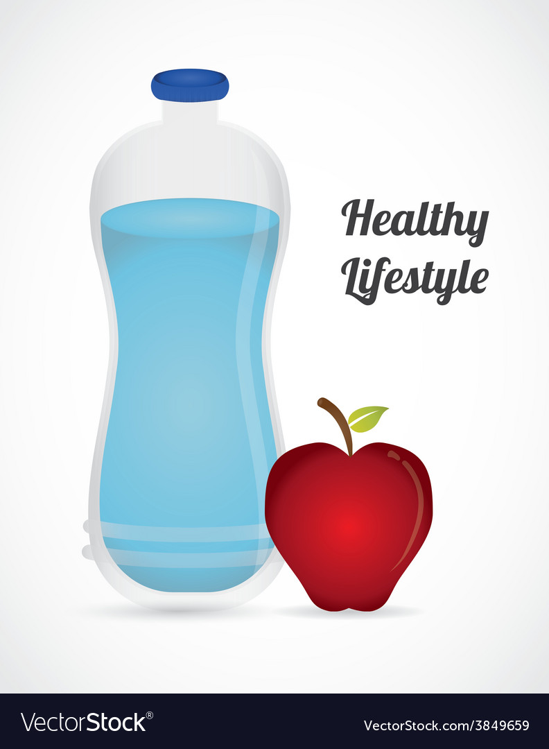 Healthy lifestyle vector | Price: 1 Credit (USD $1)