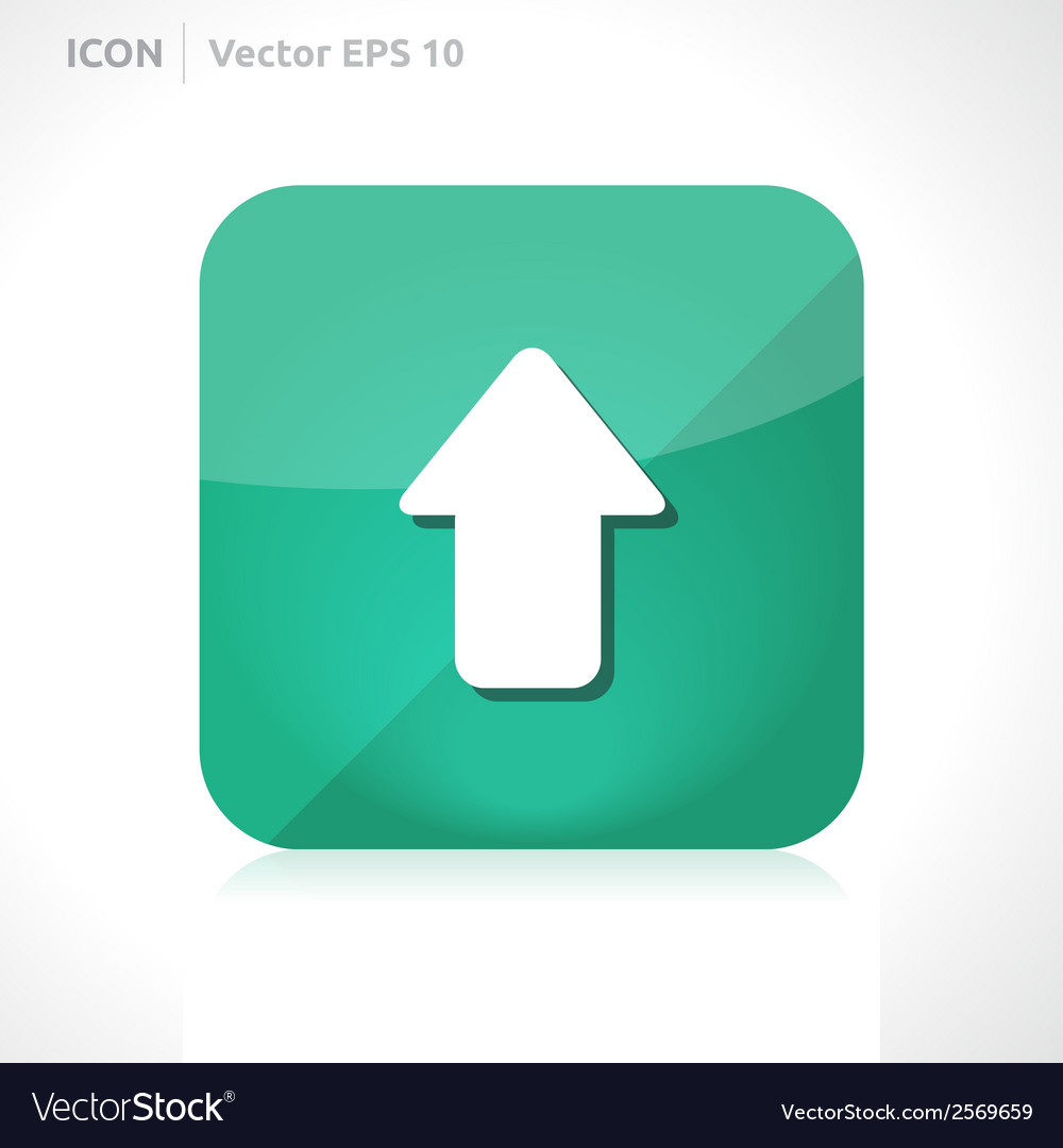 Upload icon vector | Price: 1 Credit (USD $1)