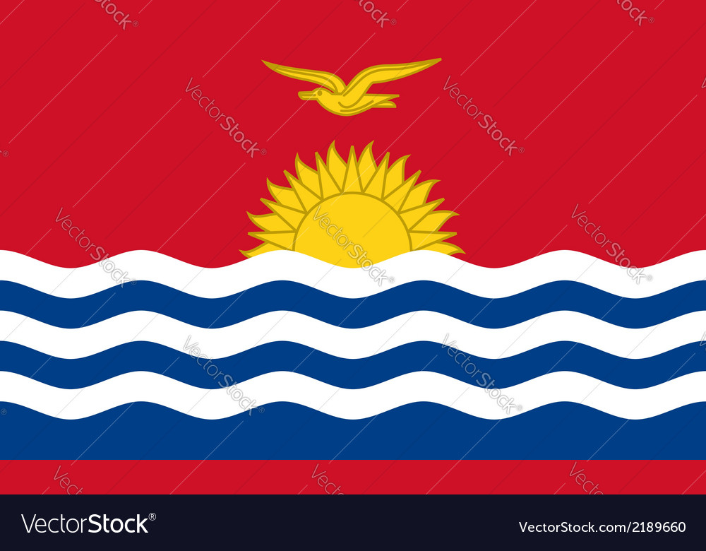Kiribati vector | Price: 1 Credit (USD $1)