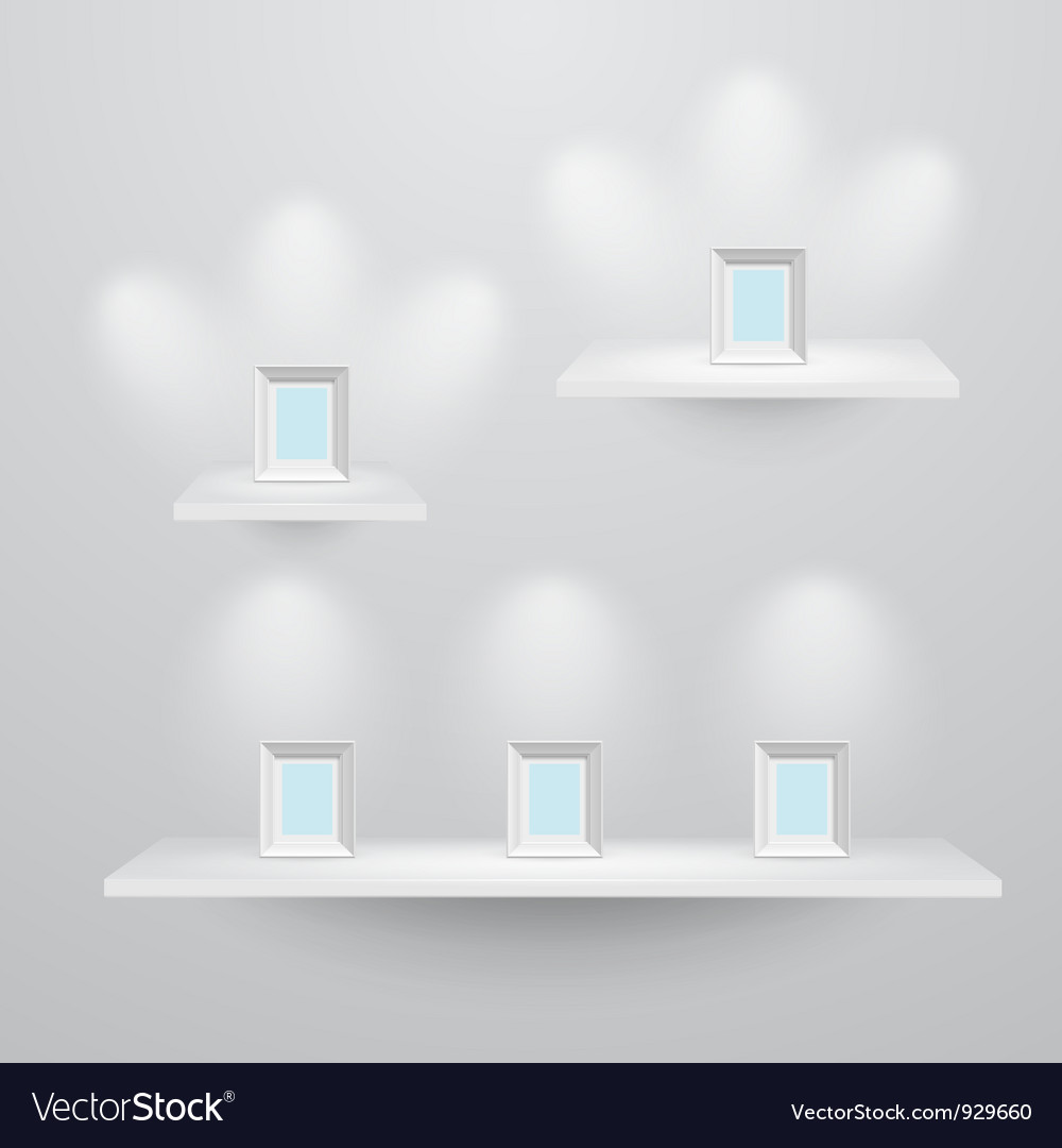 Shelf3sizes vector | Price: 1 Credit (USD $1)
