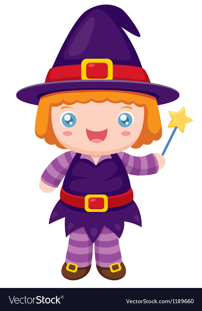 Witch vector | Price: 1 Credit (USD $1)