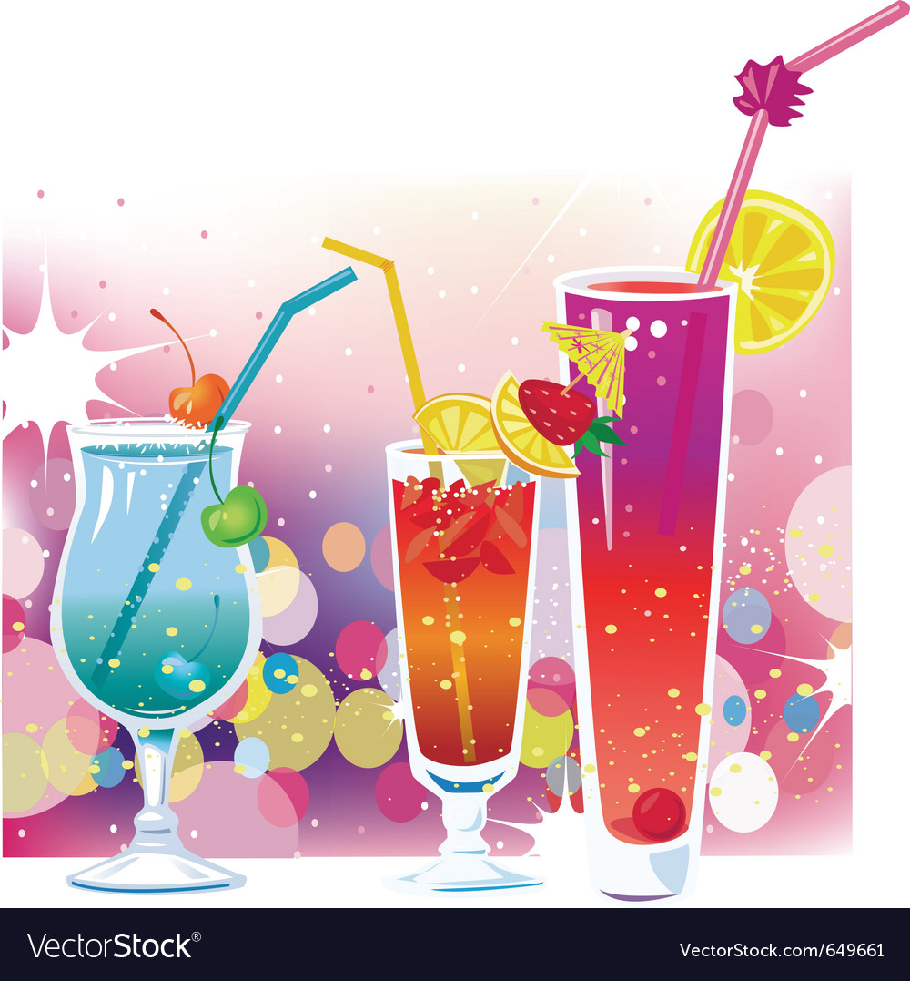 Cocktails vector   Price: 1 Credit (USD $1)