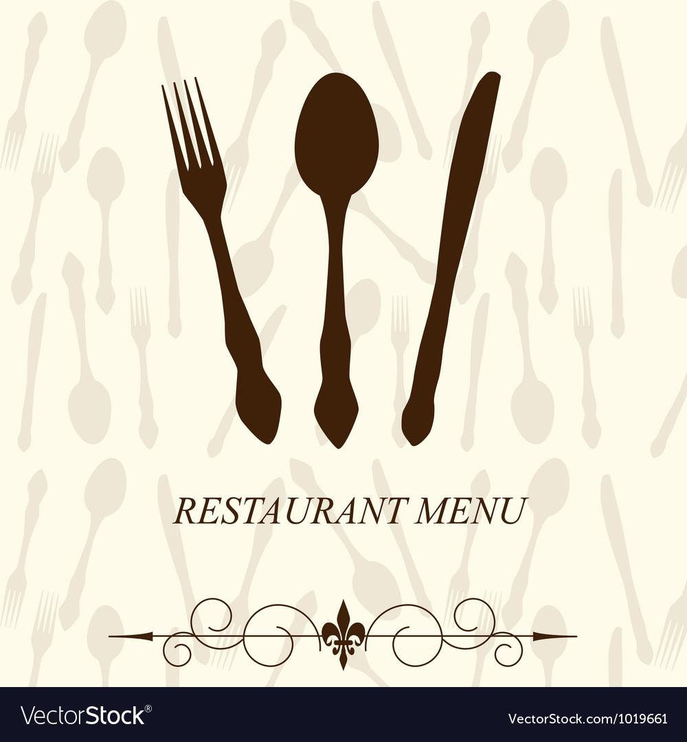 The concept of restaurant menu vector   Price: 1 Credit (USD $1)
