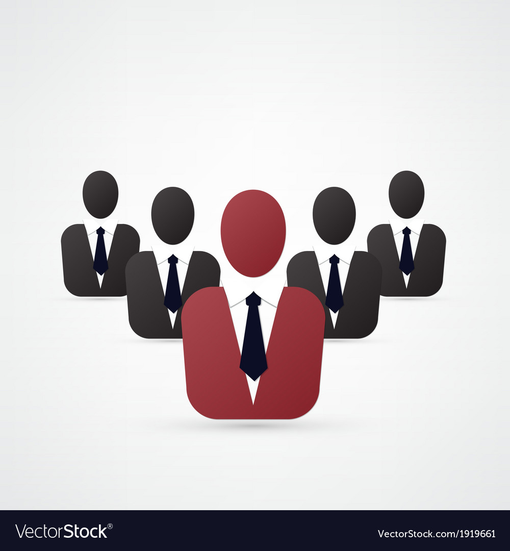 Leadership concept vector | Price: 1 Credit (USD $1)