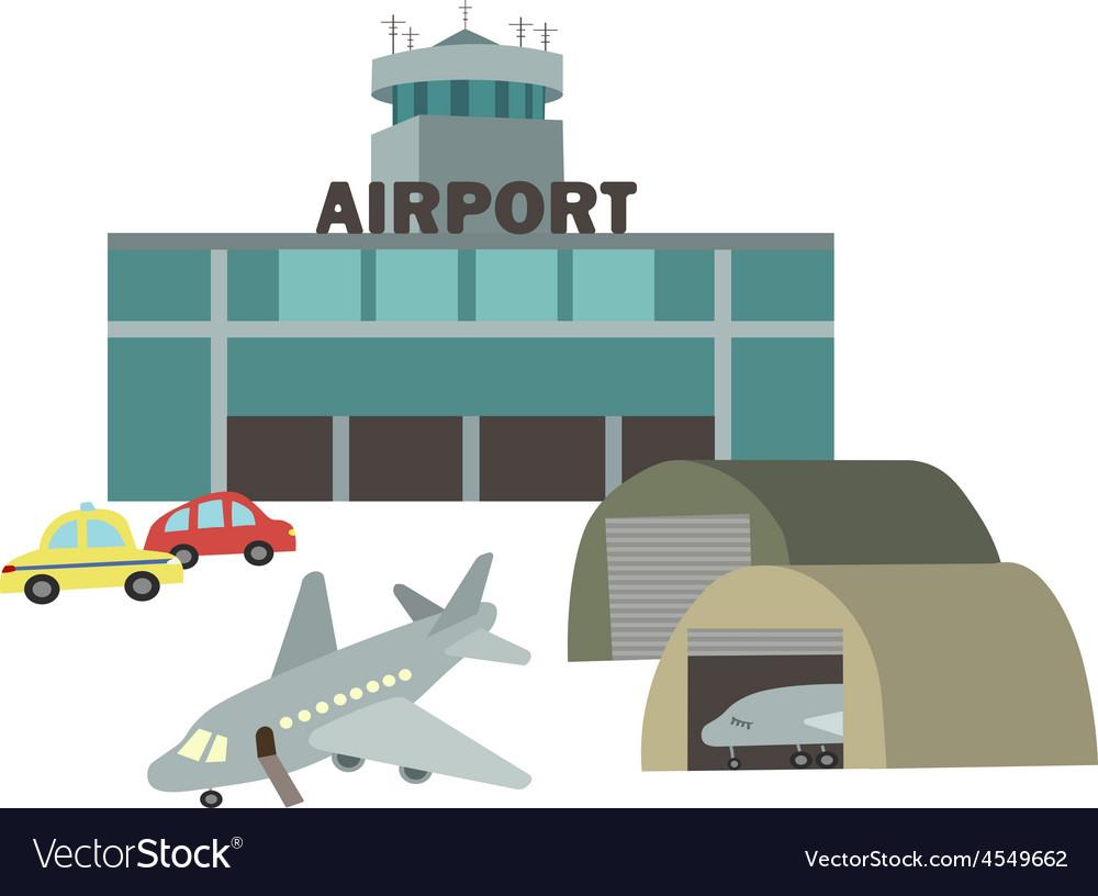 Airport vector | Price: 1 Credit (USD $1)