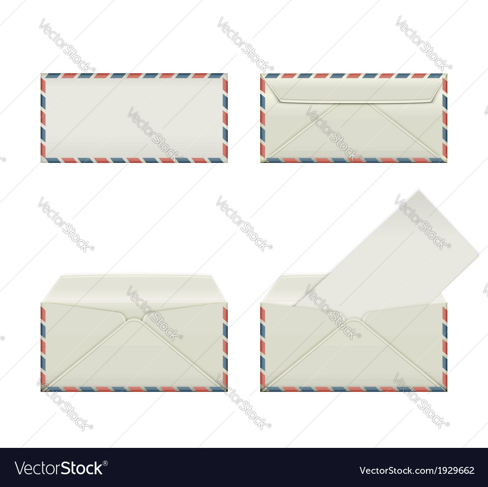 Envelope third vector | Price: 1 Credit (USD $1)