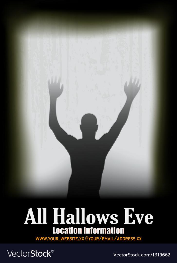 Halloween window vector   Price: 1 Credit (USD $1)