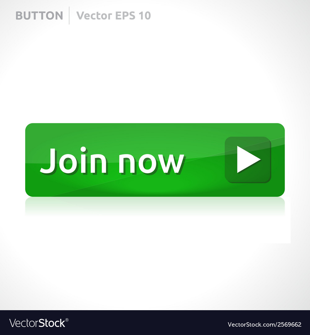 Join now button template vector | Price: 1 Credit (USD $1)