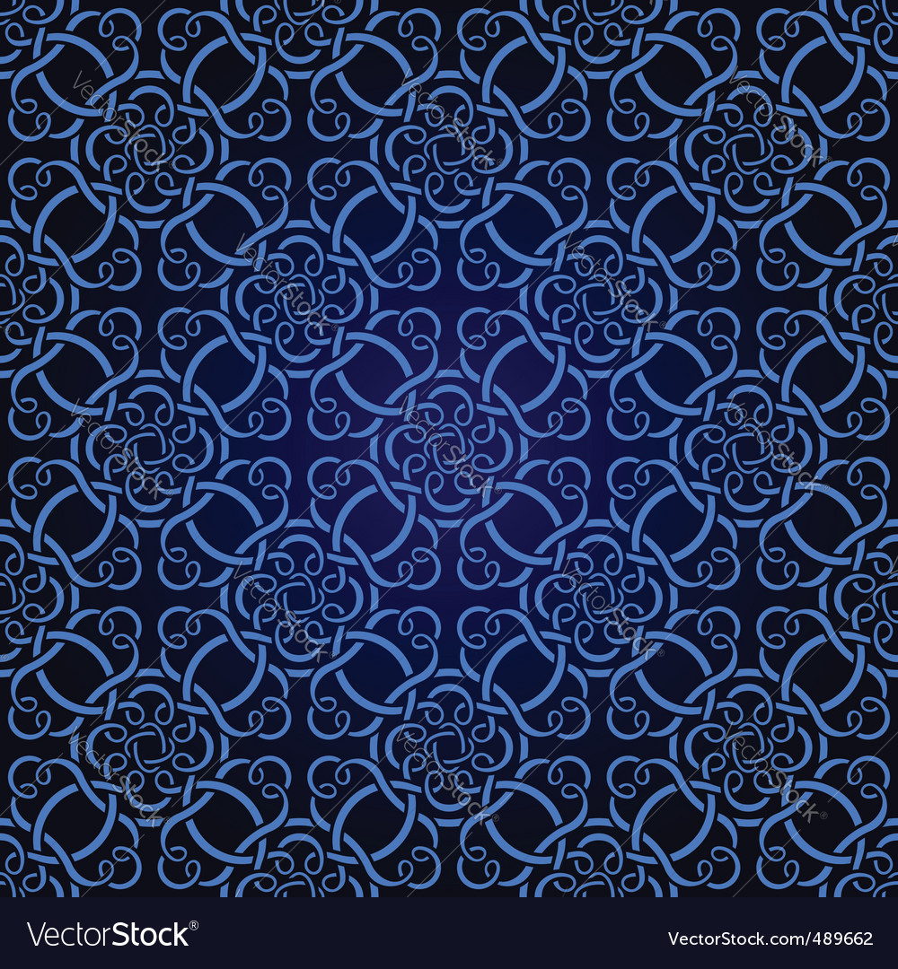 Seamless celtic wallpaper vector | Price: 1 Credit (USD $1)