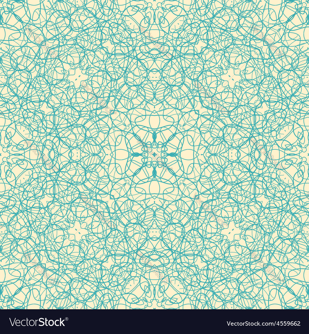 Web pattern blue vector