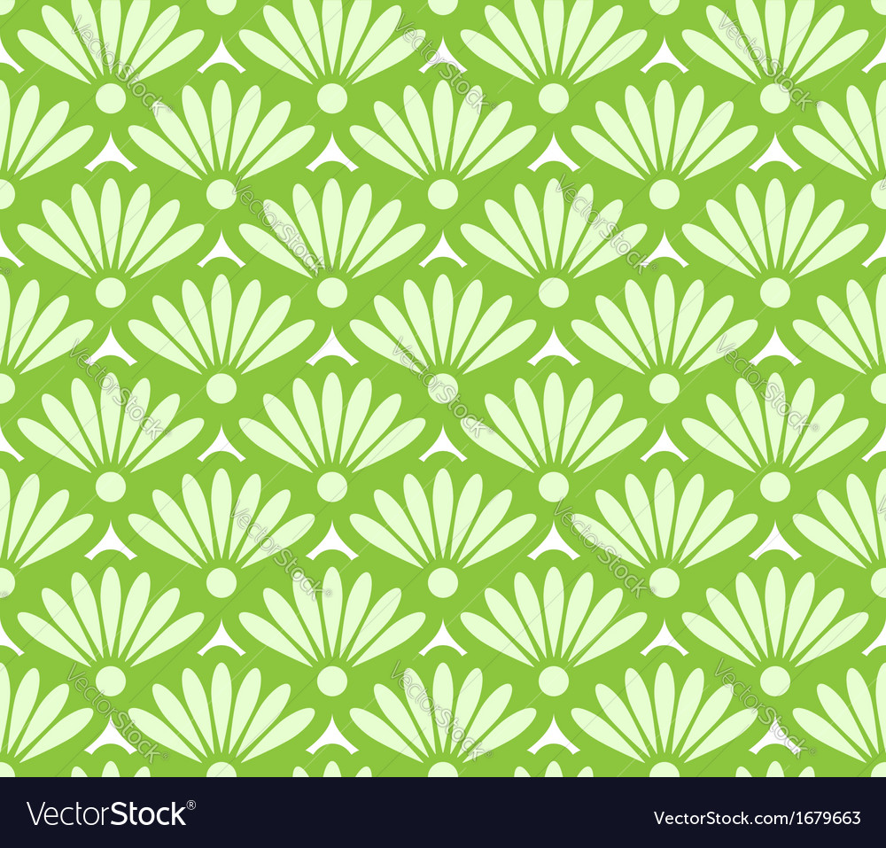 Abstract green seamless pattern vector | Price: 1 Credit (USD $1)